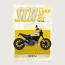Scrambler Family Posters. A Graphic Design & Illustration project by ivan bügel - 05.18.2018