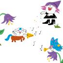 Revista Kiwi #4 Abracadabra. Un proyecto de Diseño, Ilustración, Diseño de personajes, Diseño editorial, Educación, Bellas Artes, Creatividad, Dibujo, Ilustración digital e Ilustración infantil de Marina Hdez Ávila - 09.04.2019