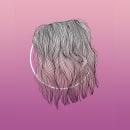 Ode to Hair - Oda al Pelo. Um projeto de Criatividade, Desenho e Ilustração digital de Emece DD - 11.04.2019