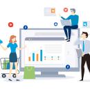 marketing-digital Graphic. Un proyecto de Diseño gráfico de Tahimi Leon Bravo - 12.02.2019
