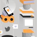 Ilustración para Gràffica . A Graphic Design & Illustration project by Casmic Lab - 04.17.2018