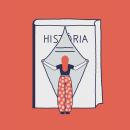 On són les dones als llibres d'història?. A Illustration, Fine Art, Creativit, Digital illustration, and Watercolor Painting project by Sabina Alcaraz - 04.18.2019