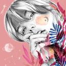Mi Proyecto del curso: Retrato con lápiz, técnicas de color y Photoshop. Un proyecto de Ilustración digital, Pintura a la acuarela e Ilustración de retrato de Lourdes Villagra - 25.04.2019