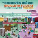 XV Congés Ibèric Bicicleta i ciutat. Un proyecto de Diseño gráfico de Pilar Rodríguez - 30.04.2018