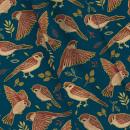 Gorrión textil. Un proyecto de Dibujo, Ilustración digital, Dibujo artístico e Ilustración textil de Daniela Salazar - 01.05.2019