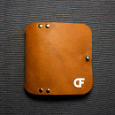 Leather Card Holder Wallet; Proyecto de Introducción al diseño en cuero. Um projeto de Design de produtos de Diego Flores - 01.05.2019