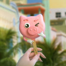 Lucciano`s Ice Cream Tonio. Um projeto de 3D, Animação, Arquitetura, Direção de arte, Design de personagens, Vídeo, Animação de personagens, Animação 3D, Modelagem 3D e Design de personagens 3D de Ruben F Stremiz - 02.05.2019