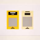Trabajo de serigrafía / Bia Bittencourt - Gracias por hacer un uso adecuado de los espacios. Un proyecto de Bellas Artes, Creatividad y Estampación de Ora Labora Studio - 02.09.2018