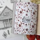 Ilustraciones: El cuaderno del Bosque. Roca Editorial. 2018. Un proyecto de Ilustración, Bellas Artes, Creatividad, Dibujo a lápiz, Pintura a la acuarela y Dibujo artístico de Ana Santos - 06.05.2019