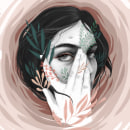 Huracán. Um projeto de Ilustração, Ilustração de retrato e Ilustração digital de Beatriz Ramo (Naranjalidad) - 07.05.2019