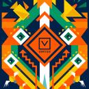 VERTICE PUBLICIDAD - rebranding. Um projeto de Direção de arte, Br, ing e Identidade, Design gráfico e Ilustração digital de Nev Illustrator - 08.05.2019