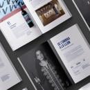 Memoria anual de la Fundació Setba. Um projeto de Direção de arte, Design editorial e Design gráfico de Minsk - 08.05.2019