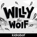 Willy the Wolf. Un progetto di Design, Direzione artistica, Br, ing e identità di marca, Character Design, Graphic Design, Packaging, Product Design, Scultura, Design di giocattoli, Illustrazione vettoriale, Creatività e Illustrazione digitale di Shiffa McNasty - 08.05.2019