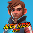 Alex Kidd 2019. Un progetto di 3D , e Videogiochi di gesiOH - 12.05.2019