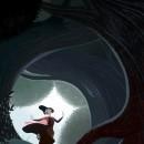 Ilustración inspirada en Blancanieves. Un proyecto de Diseño editorial, Bellas Artes, Dibujo, Concept Art e Ilustración infantil de Pedro Riquelme - 15.05.2019