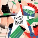 Cartel para Festa Major de Gracia. Um projeto de Ilustração de Maryna Kizilova - 16.05.2019