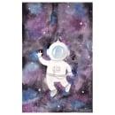 Astronauta en el espacio. Um projeto de Ilustração, Criatividade, Desenho e Desenho artístico de Lizbeth Zenteno Espinoza - 22.05.2019