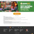 Gananabet.mx. A Web Design project by Violeta Farías - 05.24.2019