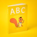 ABC abecedario animalario. Um projeto de Design editorial e Ilustração de Raeioul - 24.05.2019