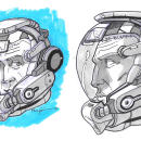 SGC-006 - Space Garbage Collector. Um projeto de Comic de Emilio Jorge Mongiovi - 27.05.2019