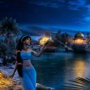 Three Wishes. Aladdin. Um projeto de Pós-produção e Retoque fotográfico de Carolina Tejera - 06.06.2019