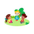 Ilustraciones para Ilêwasi. Un proyecto de Ilustración digital e Ilustración infantil de Glo VD - 11.06.2019