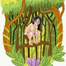 Hijo de Gaia (primeras pruebas). Un proyecto de Diseño, Ilustración, Diseño editorial, Cómic, Ilustración vectorial, Bocetado, Dibujo, Ilustración digital, Concept Art e Ilustración infantil de Hirra Al Andalus - 01.06.2019