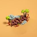 Error 404. A Illustration, UI / UX, 3D, Digital illustration, and 3d modeling project by Daniel Dominguez - 06.12.2019