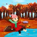 Espacio. Un proyecto de Ilustración digital e Ilustración infantil de Glo VD - 14.06.2019