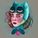 Mi Proyecto del curso: Ilustración digital con Procreate. A Illustration, Zeichnung, Digitale Illustration und Digitale Zeichnung project by Melissa Fernandez Pizarro - 15.06.2019