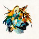 Arte para el album Magical Thinking de Chico Mann. Um projeto de Design gráfico e Ilustração de Alvaro Tapia Hidalgo - 01.06.2013