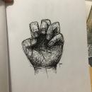 Otra...mano. A Illustration project by Jonathan Mejia - 23.06.2019