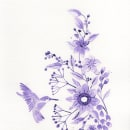 My project in Modern Watercolour Techniques course. Um projeto de Ilustração de Maria Isabel Rios - 03.07.2019