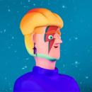 Lets Dace ( ILUSTRACION 3D PERSONAJE). Un proyecto de Ilustración, 3D, Diseño de juguetes, Modelado 3D y Diseño de personajes 3D de Eva Segen - 07.07.2019