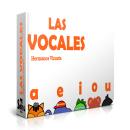 Mi Proyecto del curso:  Libro Las vocales. Um projeto de Design gráfico de Andrés Vizueta - 08.07.2019
