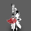 Uchiha. Um projeto de Ilustração, Cinema, Vídeo e TV, Design de personagens, Criatividade, Concept Art e Desenho artístico de Adrián Lopez Maya - 15.07.2019