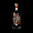 Tres Pájaros Gin. Un proyecto de Ilustración, Diseño gráfico, Packaging y Collage de Juan Montivero - 18.07.2019