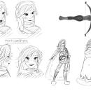Character design. Um projeto de Concept Art, Criatividade e Design de personagens de Hugo Larios Colino - 25.07.2019