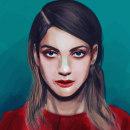 Mi Proyecto del curso: Pinceles y pixeles: introducción a la pintura digital en Photoshop. Um projeto de Ilustração de retrato de Davo Xime - 27.07.2019