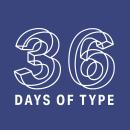 36 Days of Type 2018. Free font. Un proyecto de Tipografía de BlueTypo - 22.01.2020