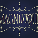 Magnifique (Lettering). A Graphic Design, and Lettering project by Rafael Jordán Oliver - 07.28.2019