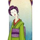 Geishas, personal. Um projeto de Ilustração e Ilustração digital de Sara I. Toribio - 03.08.2019