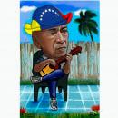 CARICATURAS EN  DIGITAL. Um projeto de Desenho de Retrato de Ricardo Hercules - 06.08.2016