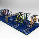 Propuestas Bicicleteros. Un proyecto de Diseño industrial de William Andaur Espinoza - 08.03.2018