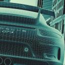 Mobil, La Sangre de Porsche. Um projeto de Publicidade, 3D, Design de iluminação, VFX, Animação de personagens, Animação 3D, Modelagem 3D, Concept Art e Arquitetura digital de Juan Paulo Mardónez - 19.08.2019