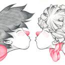 Amor de Libro. Un proyecto de Ilustración de fercalcer - 20.08.2019