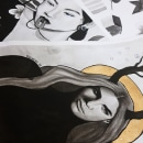 Mi Proyecto del curso: Introducción a la ilustración con tinta china. Un proyecto de Ilustración de Karime M - 25.08.2019