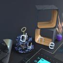 Dyne Branding. Um projeto de 3D, Direção de arte e Motion Graphics de Roberto González - 15.08.2019