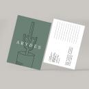 Arydes Interiorismo. Un progetto di Br, ing e identità di marca, Graphic Design, Creatività, Illustrazione digitale e Interior Design di Daniela Garza - 18.04.2019