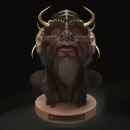 Horn . Um projeto de 3D, Design de personagens 3D e Modelagem 3D de J. L.París - 29.08.2019